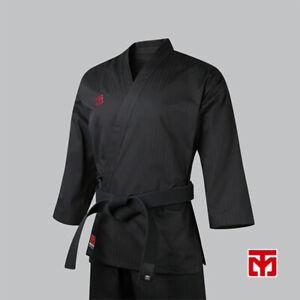 MOOTO Basic 4 Black Color Open Dobok Taekwondo TKD Uniform