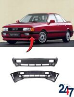 NEW AUDI 80 B3 1986 - 1991 BARE PLAIN FRONT BUMPER COVER 893807101C3FA