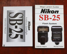 NIKON SB-25 INSTRUCTION BOOK AND THE MAGIC LANTERN GUIDE/211377