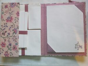 VINTAGE*AVON FRENCH ASTER WRITING FOLIO*STATIONARY*NOTE CARDS AND ENVELOPES*NIB*