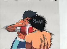 HAJIME NO IPPO - FIGHTING SPIRIT Japanese animation cel w/douga A3/B1/C2