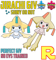 6IV JIRACHI ⚔️ SHINY or NOT (+ITEM!) 🛡 POKEMON SWORD & SHIELD