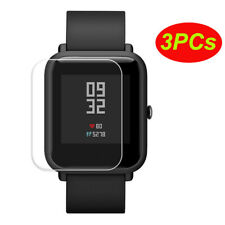 3pcs Screen Protective Waterproof Film For Xiaomi Huami Amazfit Bip Youth Watch