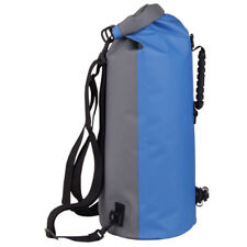 60L Waterproof Floating Dry Bag Backpack Drift Canoe Kayak Fishing Boating Blue
