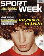 Sport Week.MARCO SIMONCELLI,USAIN BOLT,VALERIO MASTANDREA,FERZAN OZPETEK,iii