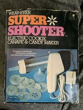 Wear-Ever Super Shooter 70001 Electric Cookie Press Canape Candy Maker Tested