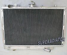 2 ROW Performance Aluminum Radiator fit for Mazda Protege 323 1990-1994 MT New