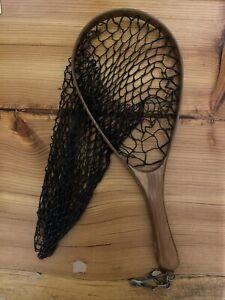 "14"" Brodin wooden fishing net trout"