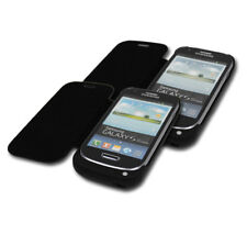 2 X 2000MAH BACKUP BATTERY CHARGER SNAP ON POWER CASE COVER BLACK GALAXY S3 MINI