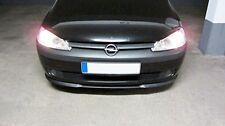 Vauxhall Opel Corsa C 3 MK3 Front Bumper Cup Chin Spoiler Lip Splitter Valance-