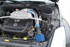 BCP BLUE 03-06 350Z G35 FX35 3.5L V6 Short Ram Racing Intake + Filter For Nissan