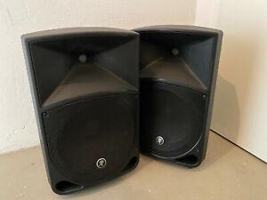 Mackie Thump 12 Aktive PA Fullrange Lautsprecher 2 Stück / Paar