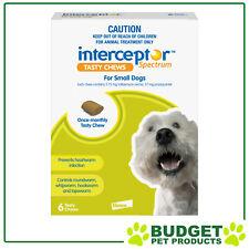 Interceptor Spectrum For Dogs 4-11kg Green 6 chews