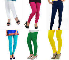 "Combo pack of 6 Leggings for women - Cotton Lycra (waist 28"" to 34""inch)"