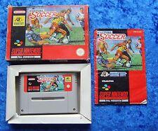 Virtual Soccer, OVP Anleitung, SNES, Super Nintendo Spiel