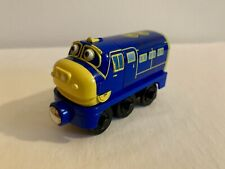 Chuggington BREWSTER Wooden Train - Learning Curve - Thomas Track Compatible