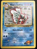 Carte Pokemon Psykokwak Misty Psyduck 54//132 Unco Gym Heroes WIZARD US