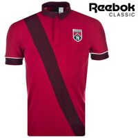 Reebok Classic Mens Pique Polo Shirt Tee Training Top Casual Free Tracked Post