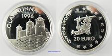 20  EURO  ARGENT FINLANDE  1996  , OLAVINLINNA  ,  FDC