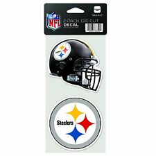 NFL Pittsburgh Steelers 4-by-8 Die Cut Decal