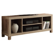 Modern TV Stand Entertainment Media Center Storage Shelf Wooden Console Table