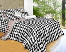 Twin 4 Pieces Luxury 100% Cotton Duvet Cover Set -  Dolce Mela Bedding DM498T