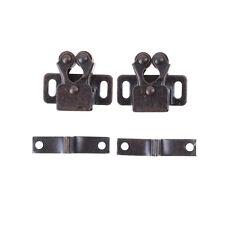2PCS Security Cabinet Door Drawer Magnetic Catch Chrom Copper Pop CV