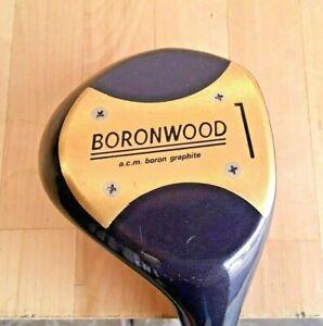 "YONEX BORONWOOD DRIVER, A.C.M. BORON Graphite (stiff) 43.5"" Length... VERY GOOD"
