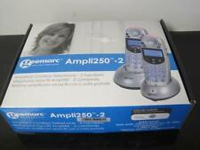 Geemarc Amplified Cordless Telephone Phone Silver AMO252 new Nib Ampli250-2