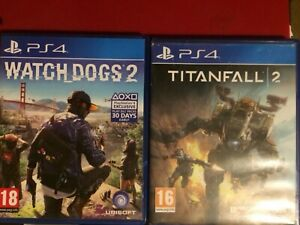 Titanfall 2 (PS4) And Watch Dogsledding 2 (PS4)