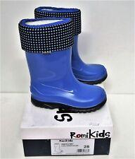 ROMIKIDS Unisex-Kinder Gummistiefel Luzy blau Größe 28 NEU