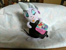 "Walt Disney Princess Little Mermaid URSULA VILLIAN 6"" Plush Stuffed Animal NEW"
