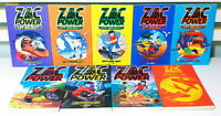 Lot of 9x Zac Power Children's Fiction Books by H. I. Larry!