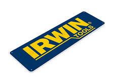 Tin Sign Irwin Tools Metal Sign Auto Garage Shop Equipment Sign Decor B233