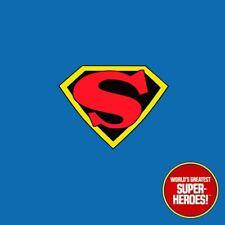 Mego Superman 1941 Max Fleischer Custom Decal Emblem Sticker for 8 Inch Figure