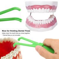 Dental oral care interdental brush floss holder flosses for dentis UK