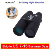 BOBLOV Night Vision Binoculars 8X 52mm HD Spotting Telescope Scope Monocular