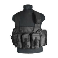 VIPER SPECIAL OPS CHEST RIG POLICE MAGS AMMO CARRIER SECURITY UTILITY VEST BLACK
