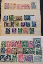 1900-60 Romania Czechoslovakia Italy mixed PERFIN collections 28 stamps (4)