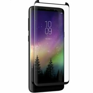ZAGG Curved Glass Curve Elite Screen Protector for Samsung Galaxy S9 Plus