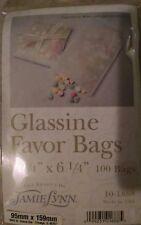 Favor bolsas de papel blanco de papel - 3.75 X 6.25 in (approx. 15.88 cm) - Conjunto de 100, Alimentos seguros
