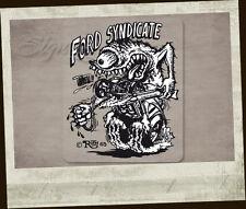 Ford Syndicate Ed Roth Aufkleber Sticker Original US-Import Moon Hemi Mopar V8