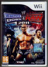 Nintendo Wii Smackdown Vs. Raw 2011, UK Pal, New & Nintendo Factory Sealed