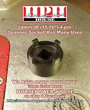 24mm HONDA TYPE OIL FILTER ROTOR SOCKET SL ST TL XL XR CB CA ++ MANY MORE