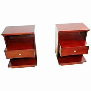 Three Tier Kent Coffey The Sovereign Nightstands End Tables middle Drawer
