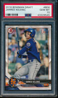 PSA 10 JARRED KELENIC 2018 1st Bowman Draft Mariners Rookie Card RC GEM MINT