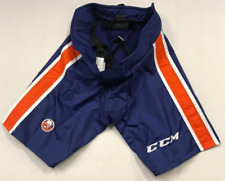 New CCM PP90C Ice Hockey Pro Return AHL Pant Shell Sr M Royal Bridgeport Tigers