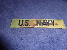 Us Navy Id Tape Multicam Patch Green Hook Style Patch