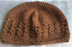 KUFI KNIT CROCHET CAP FOR INFANTS, NEW, MANY COLORS, SOFT, LOW PRICE!