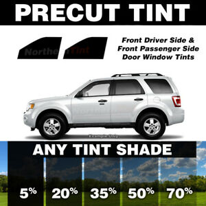 Precut Window Tint for Saturn Vue 02-07 (Front Doors Any Shade)